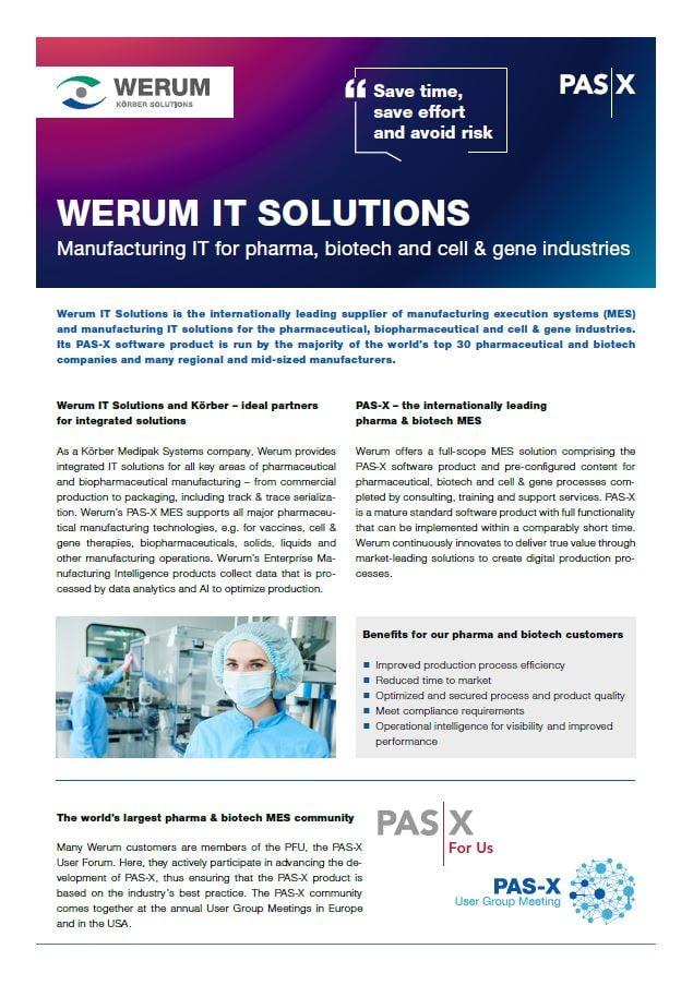 Cover_Werum_0011_Fact_Sheet_en