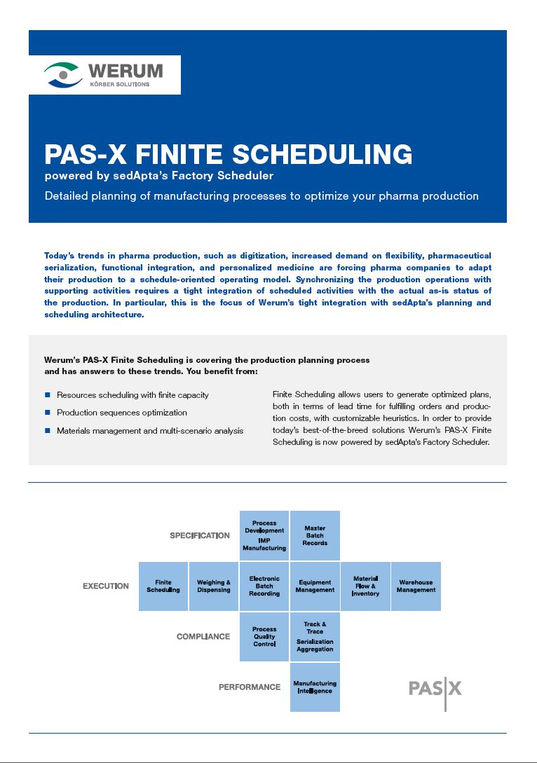 Cover_Werum_BR_0021_PAS-X_FiniteScheduling