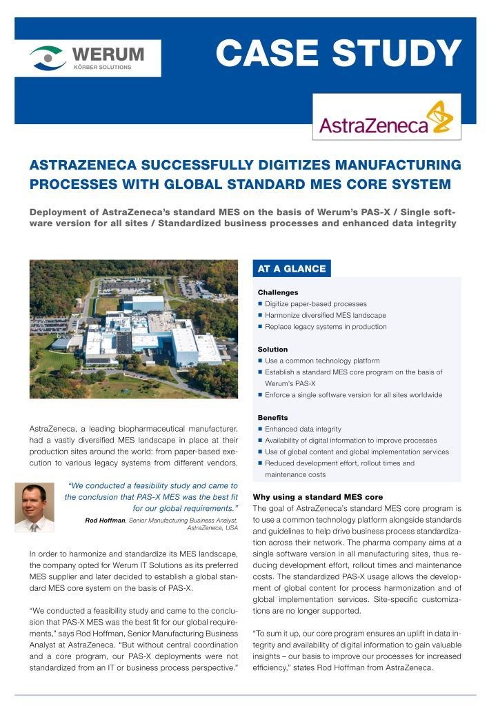 Cover_Werum_CS_AstraZeneca