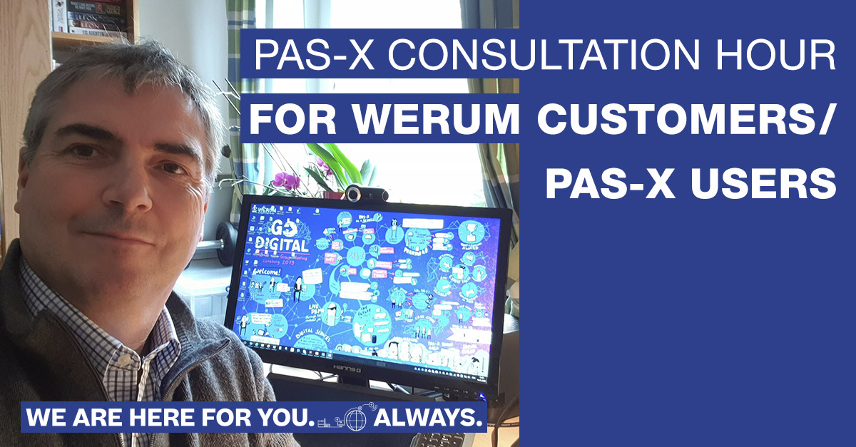 LinkedIn_Werum_ConsultationHour_1200x627_PAS-X_neu